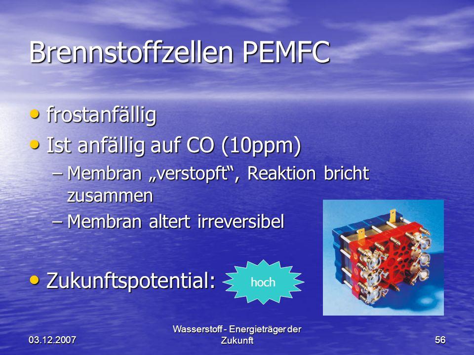 Brennstoffzellen PEMFC