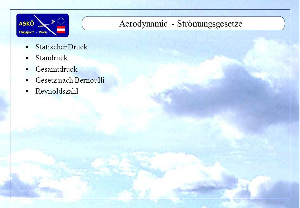 Aerodynamic - Strömungsgesetze