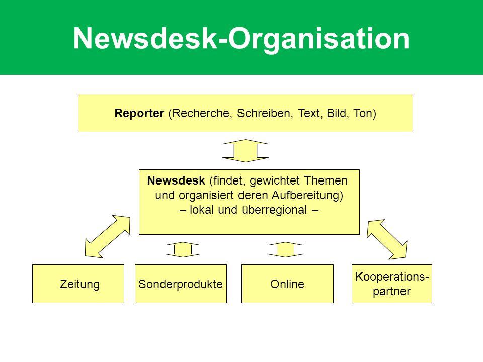 Newsdesk-Organisation