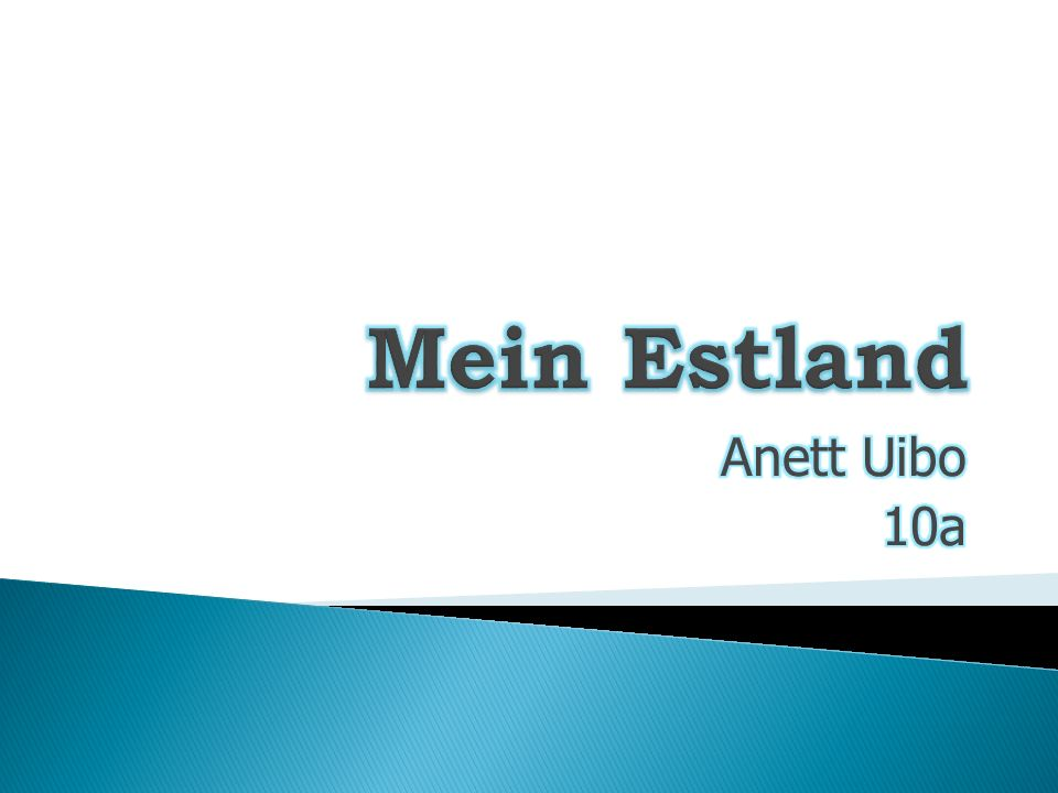 Mein Estland Anett Uibo 10a