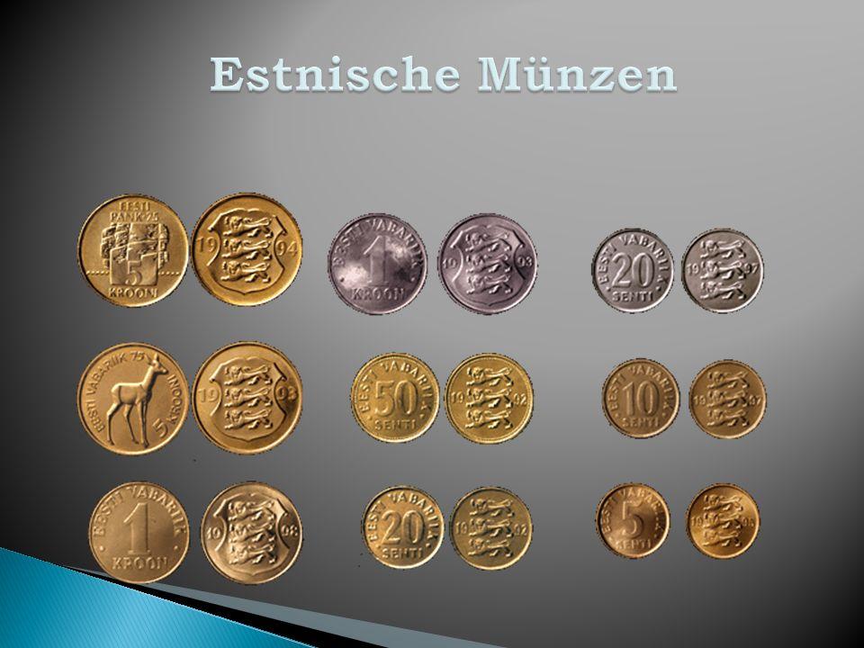 Estnische Münzen