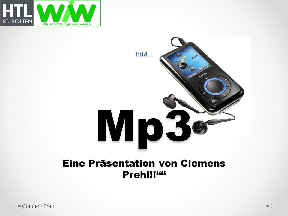 Eine Präsentation von Clemens Prehl!!
