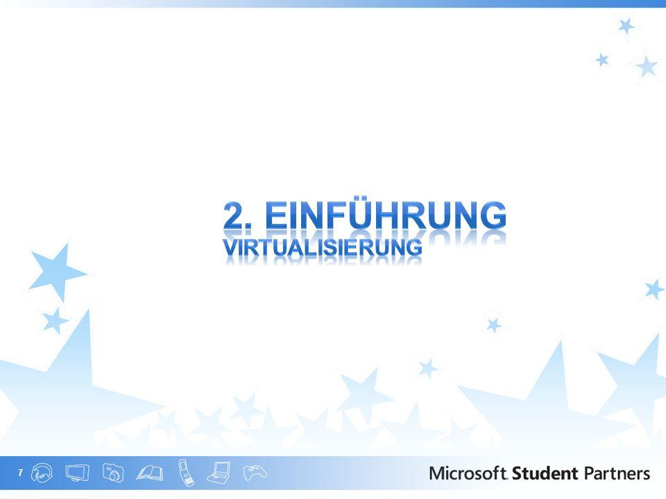 2. Einführung Virtualisierung