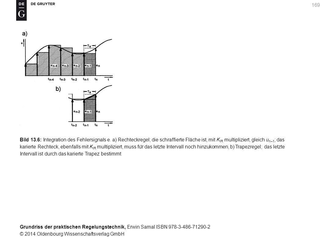 Bild 13. 6: Integration des Fehlersignals e