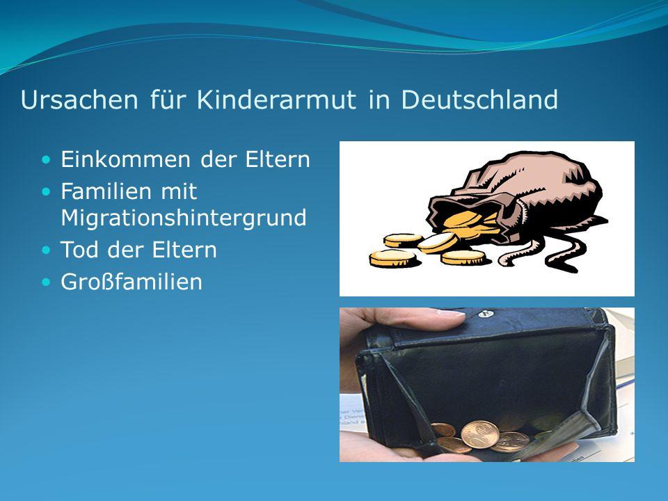 Ursachen für Kinderarmut in Deutschland