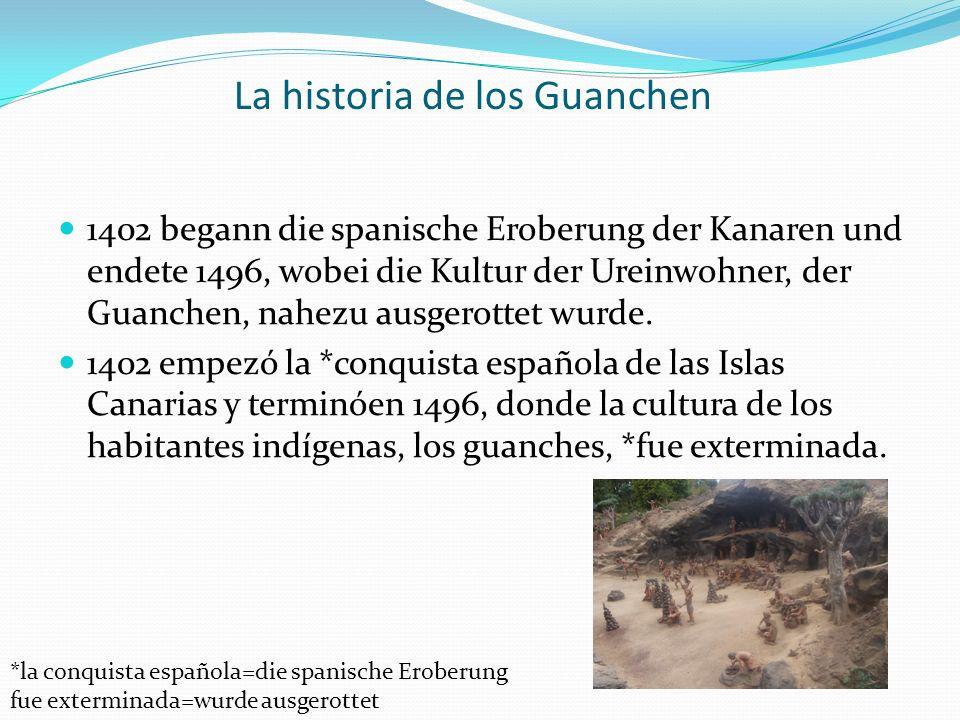 La historia de los Guanchen