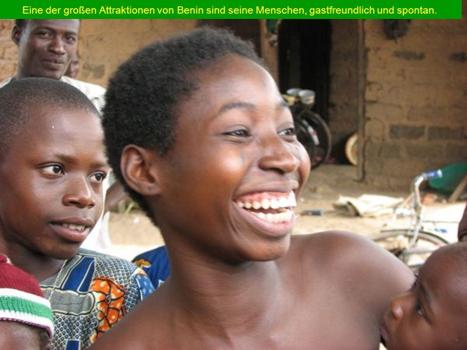 Eine der großen Attraktionen von Benin sind seine Menschen, gastfreundlich und spontan.