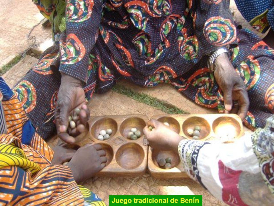 Juego tradicional de Benín