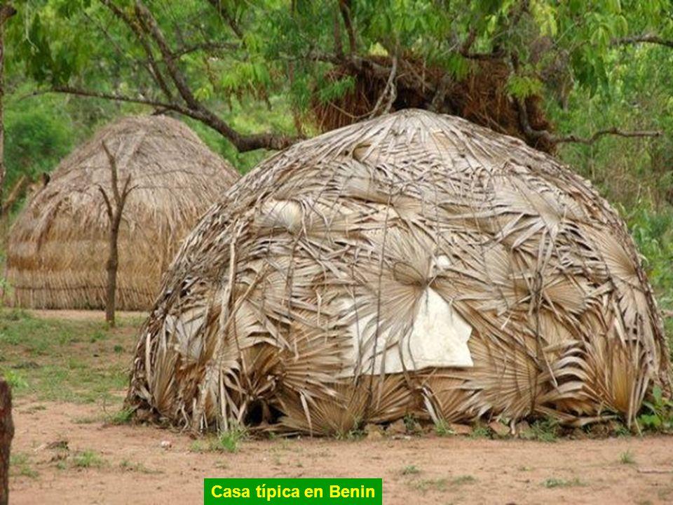 Casa típica en Benin
