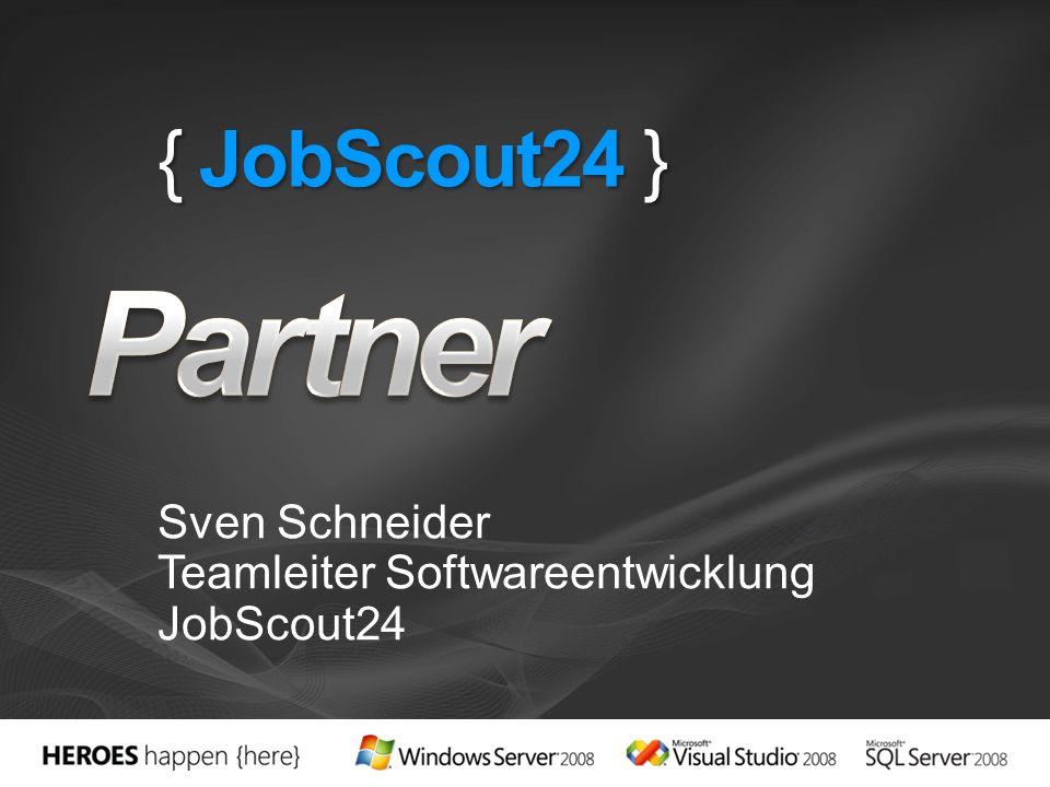 Sven Schneider Teamleiter Softwareentwicklung JobScout24