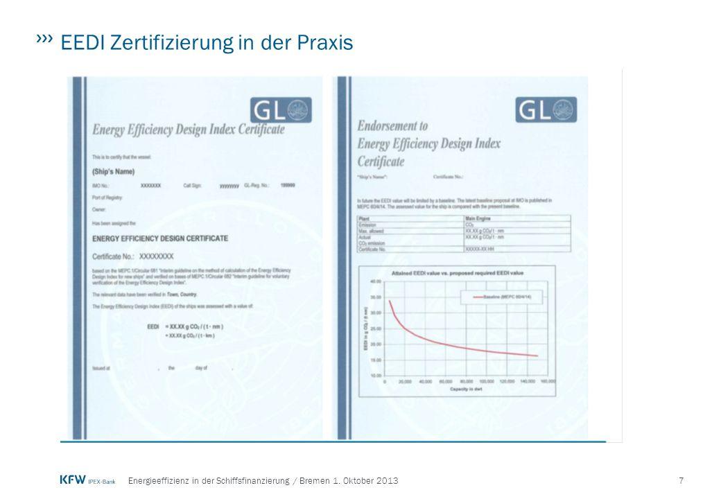 EEDI Zertifizierung in der Praxis