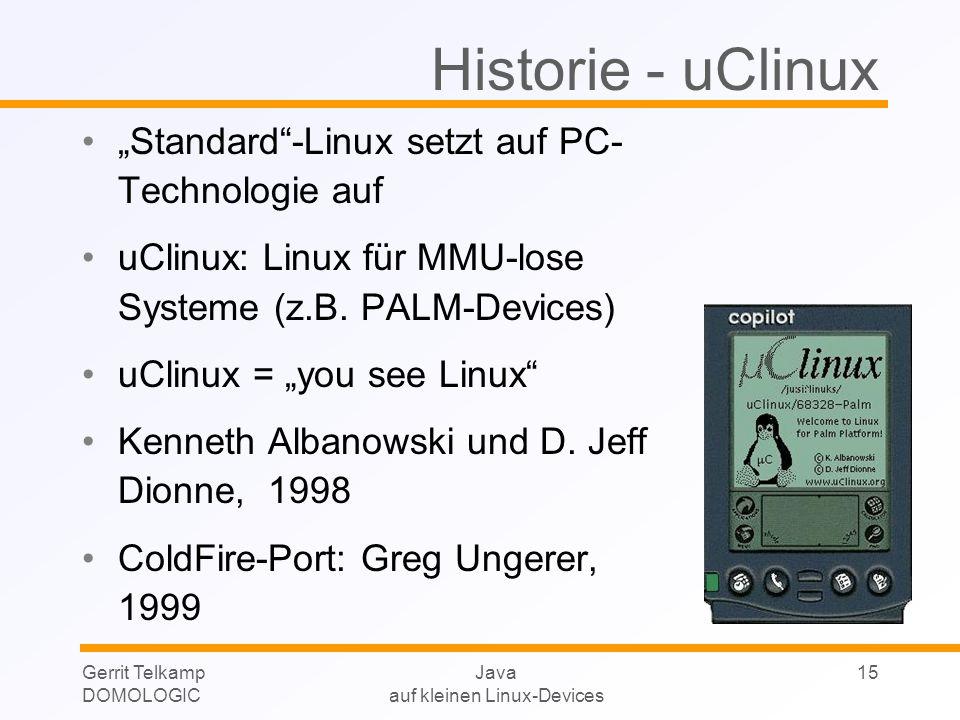 auf kleinen Linux-Devices
