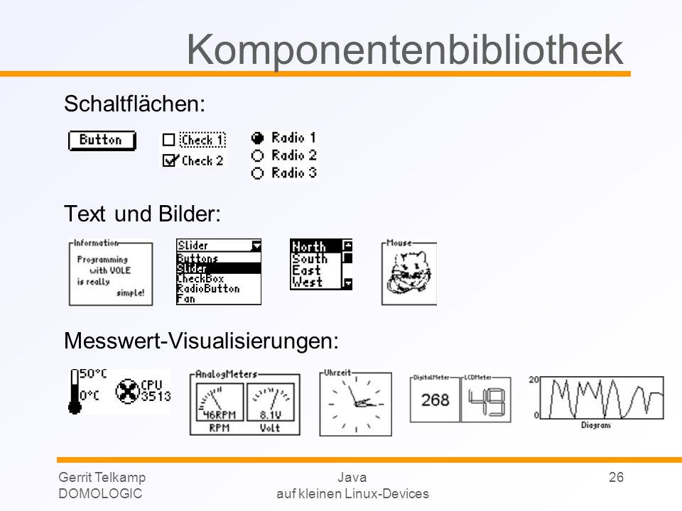 Komponentenbibliothek