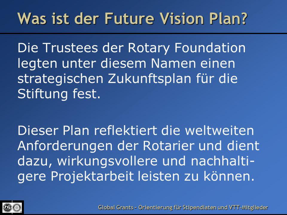 Was ist der Future Vision Plan