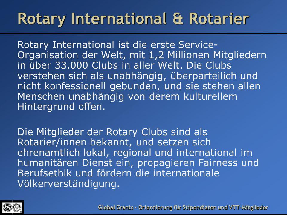Rotary International & Rotarier