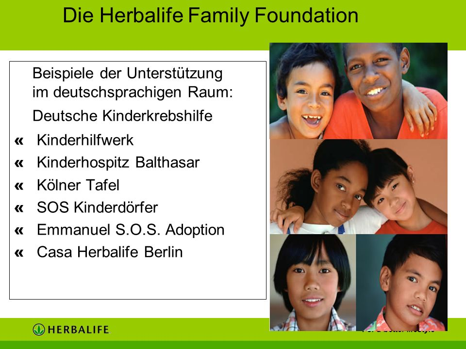 Die Herbalife Family Foundation