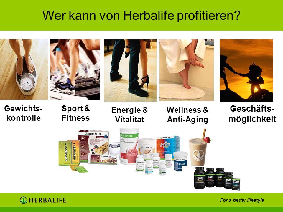 Wer kann von Herbalife profitieren