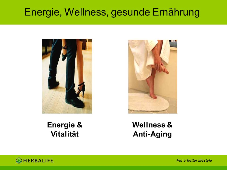Energie, Wellness, gesunde Ernährung
