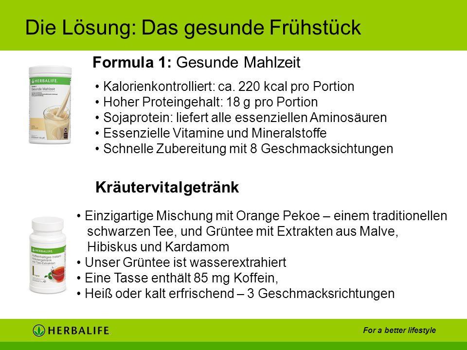 Formula 1: Gesunde Mahlzeit