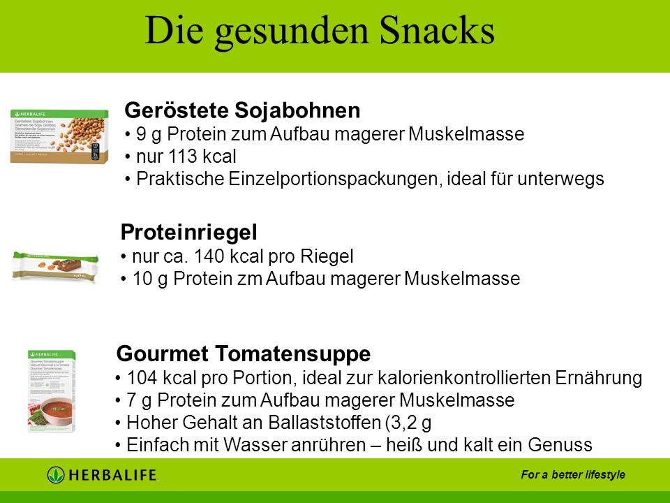 Die gesunden Snacks Geröstete Sojabohnen Proteinriegel