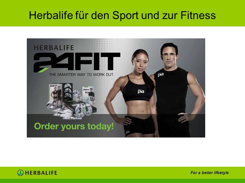 Herbalife für den Sport und zur Fitness