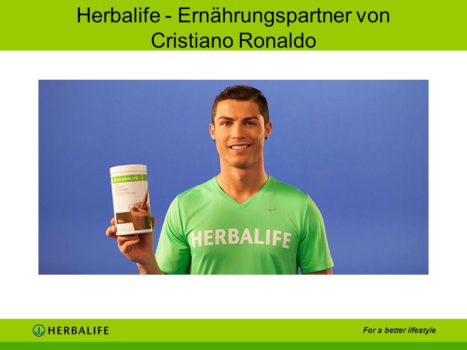Herbalife - Ernährungspartner von Cristiano Ronaldo