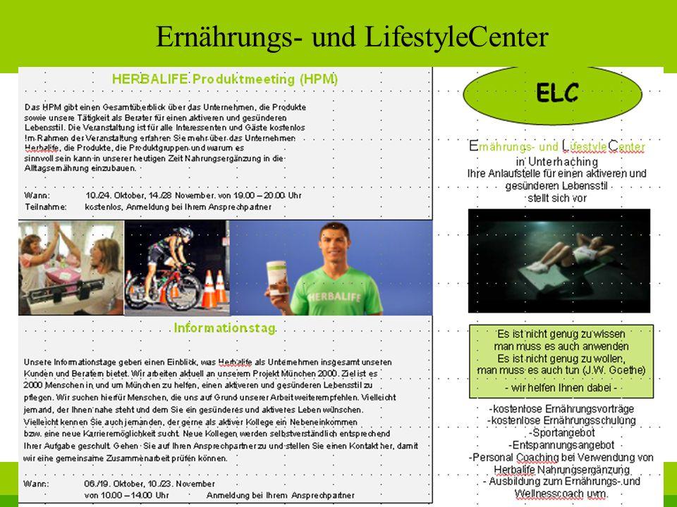 Ernährungs- und LifestyleCenter