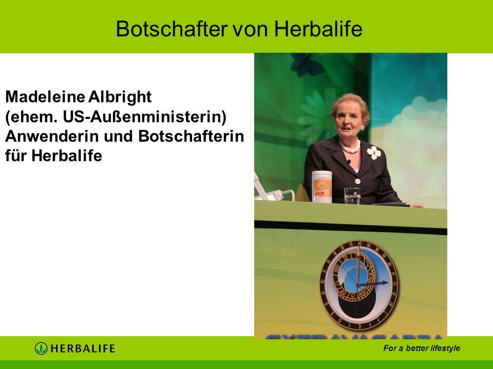Botschafter von Herbalife
