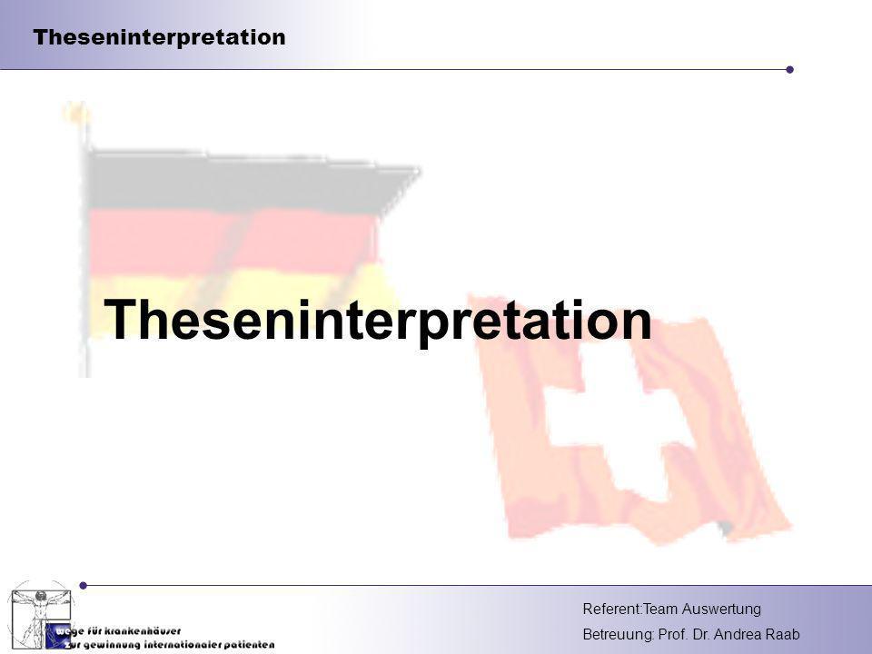 Theseninterpretation