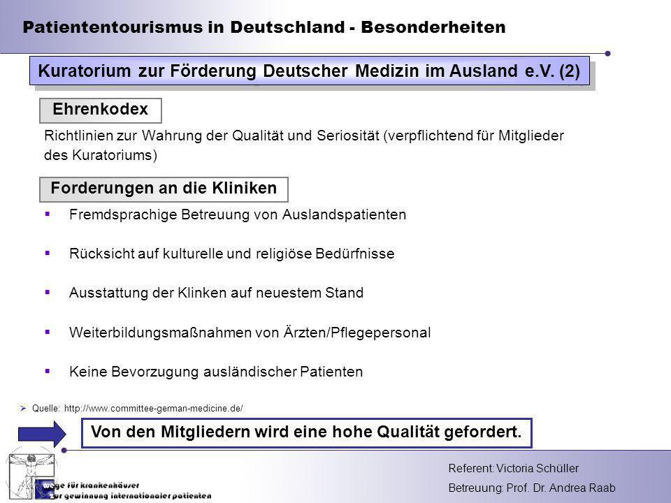 Kuratorium zur Förderung Deutscher Medizin im Ausland e.V. (2)