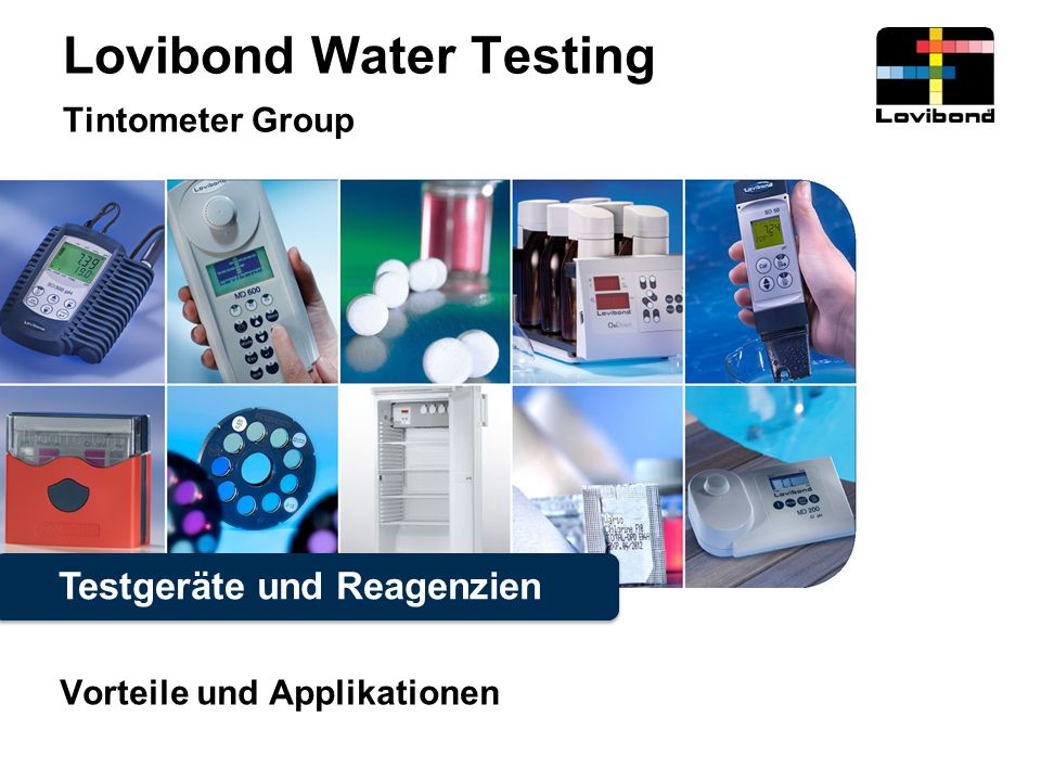 Lovibond Water Testing Tintometer Group