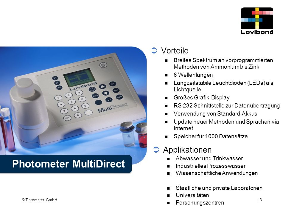 Photometer MultiDirect