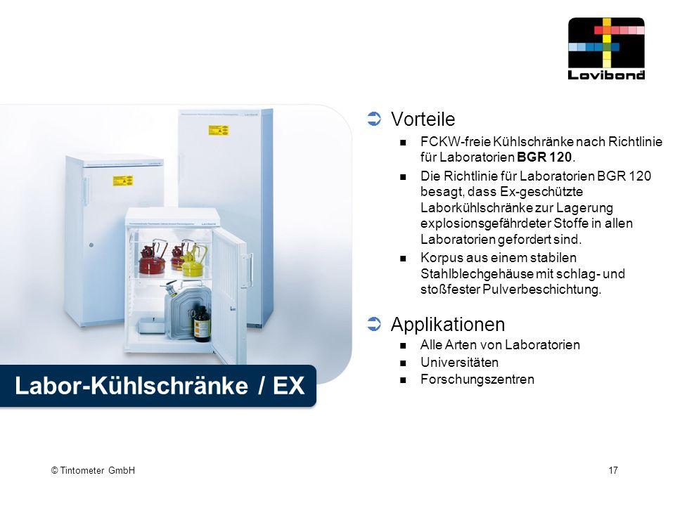 Labor-Kühlschränke / EX