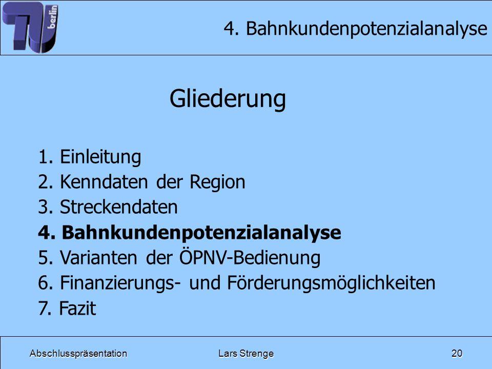 4. Bahnkundenpotenzialanalyse
