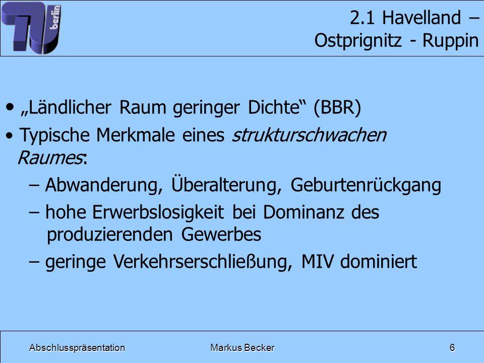 2.1 Havelland – Ostprignitz - Ruppin