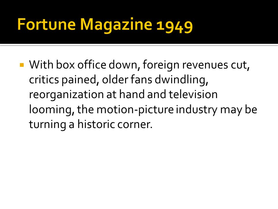 Fortune Magazine 1949