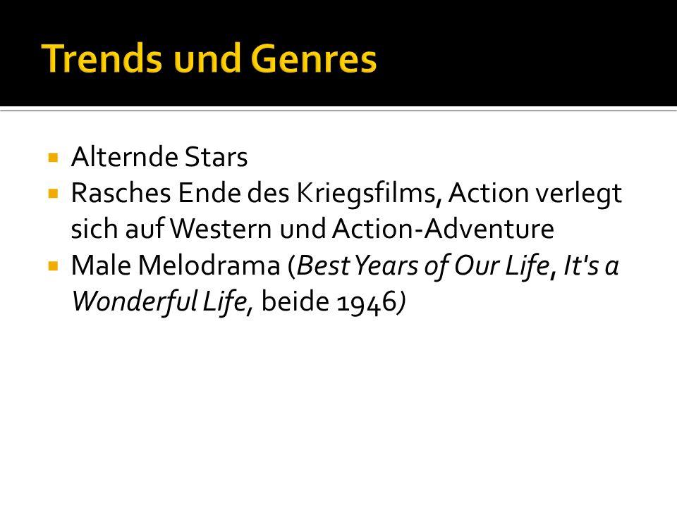 Trends und Genres Alternde Stars