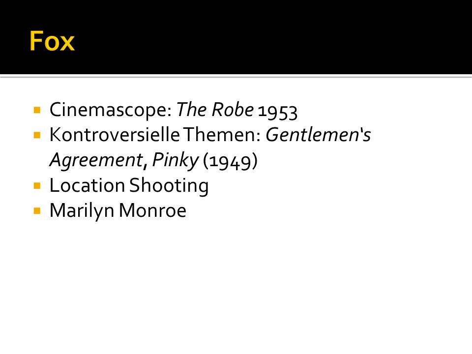 Fox Cinemascope: The Robe 1953