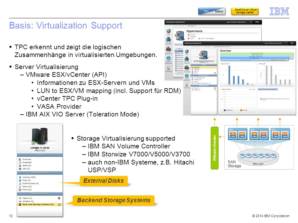 Basis: Virtualization Support