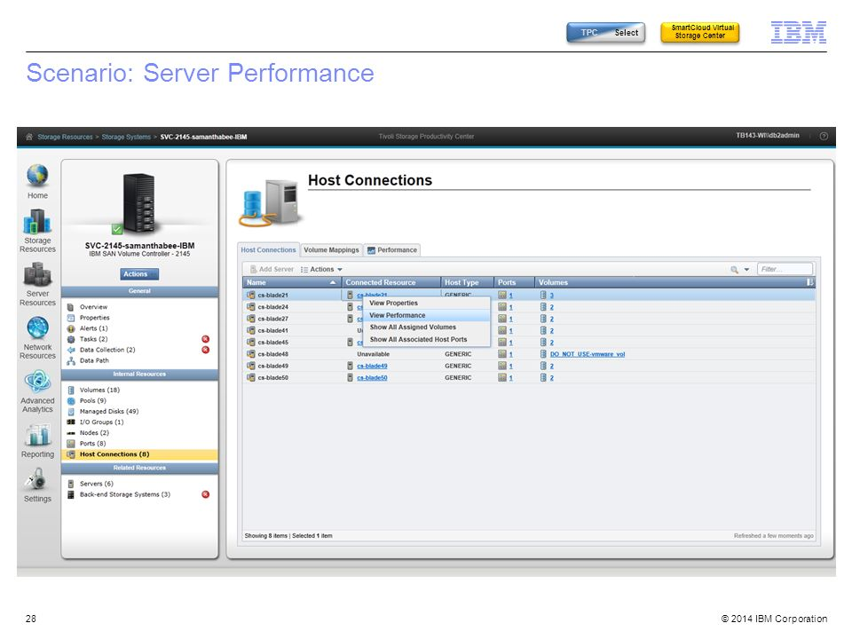 Scenario: Server Performance