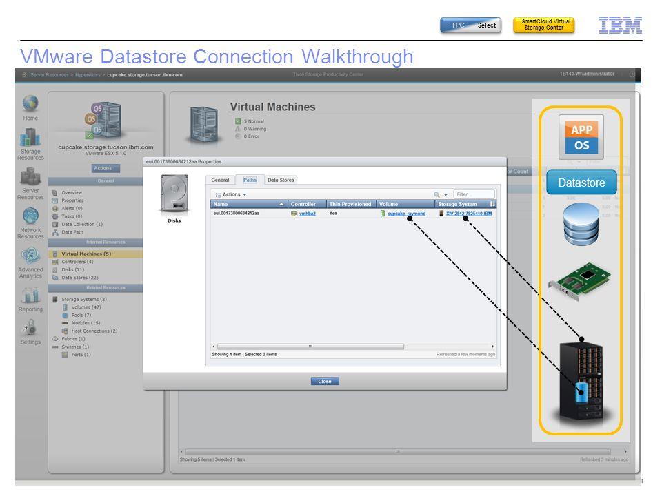 VMware Datastore Connection Walkthrough