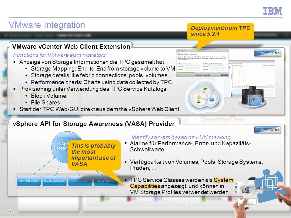 VMware Integration VMware vCenter Web Client Extension