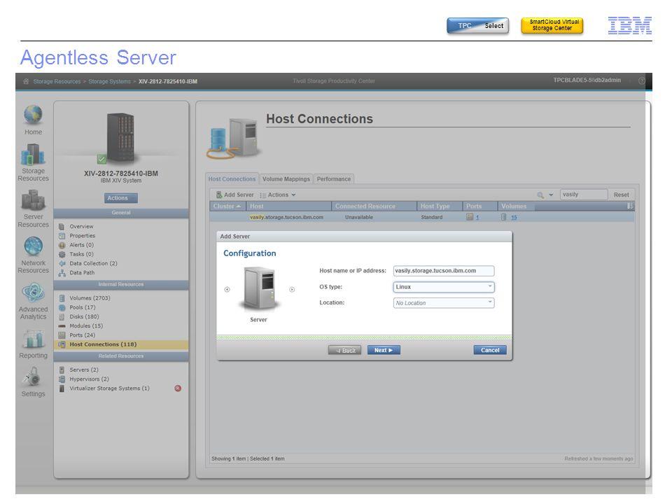 SmartCloud Virtual Storage Center