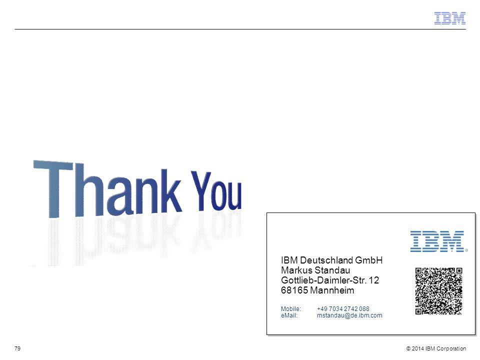 IBM Deutschland GmbH Markus Standau Gottlieb-Daimler-Str. 12