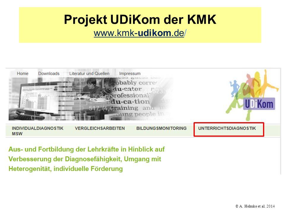 Projekt UDiKom der KMK www.kmk-udikom.de/