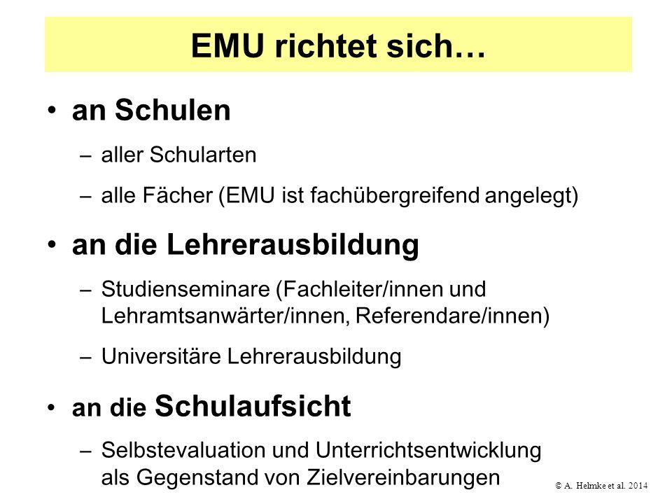 EMU richtet sich… an Schulen an die Lehrerausbildung