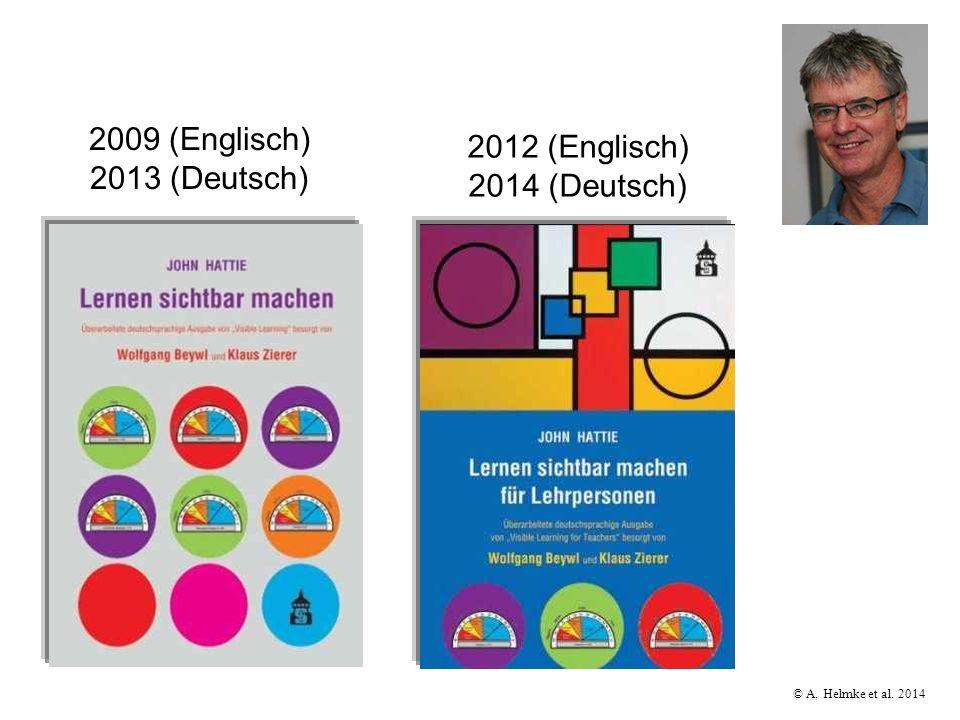 2009 (Englisch) 2013 (Deutsch) 2012 (Englisch) 2014 (Deutsch)