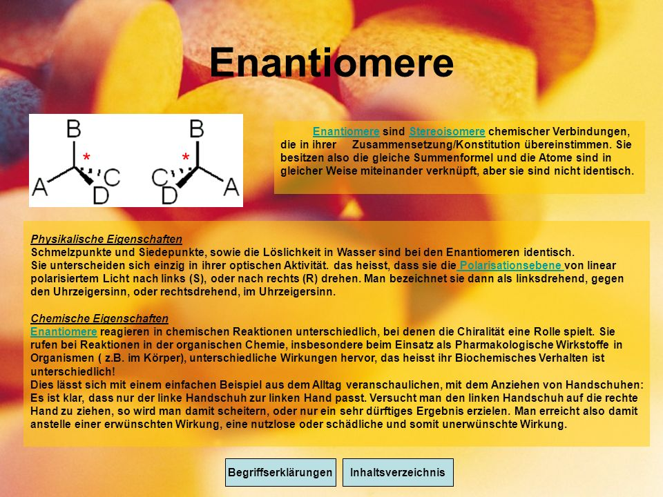 Enantiomere