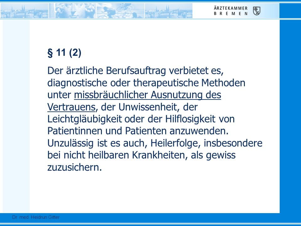 § 11 (2)