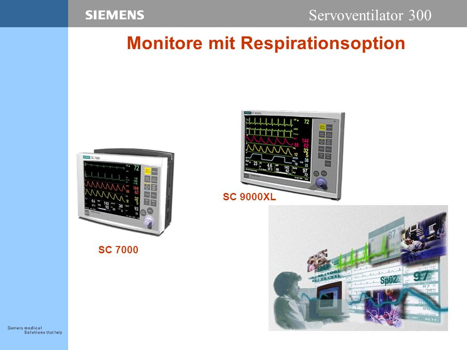 Monitore mit Respirationsoption